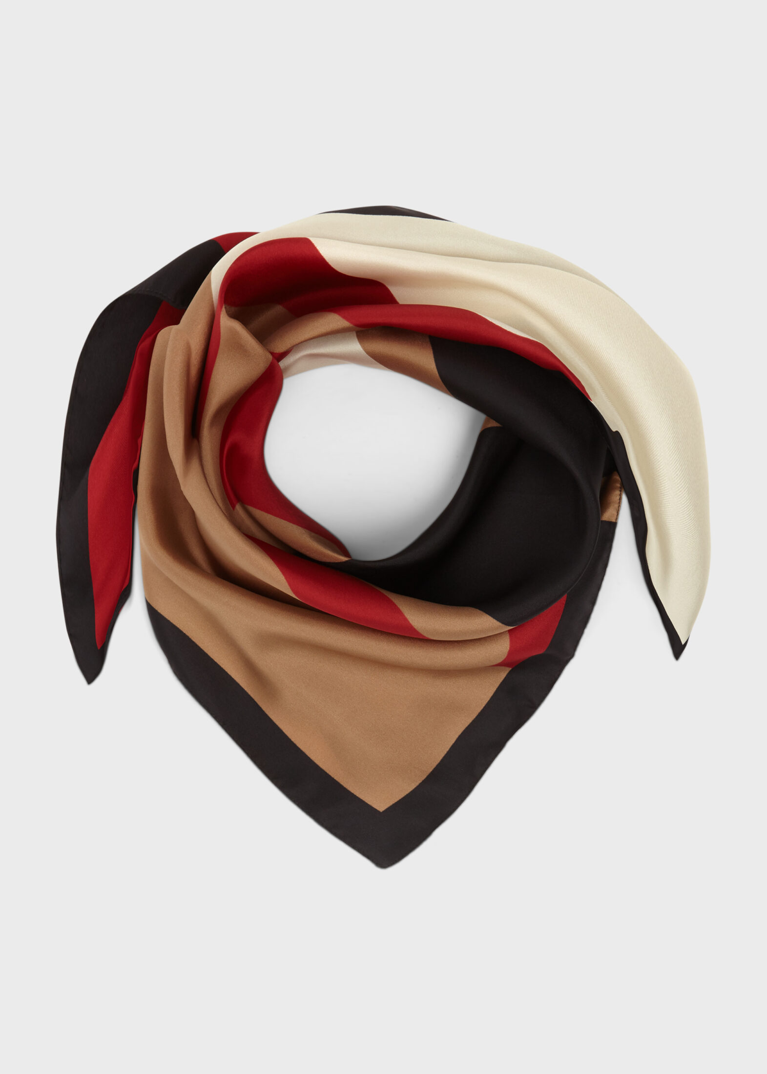 Demi Silk Logo Scarf £50 Hobbs