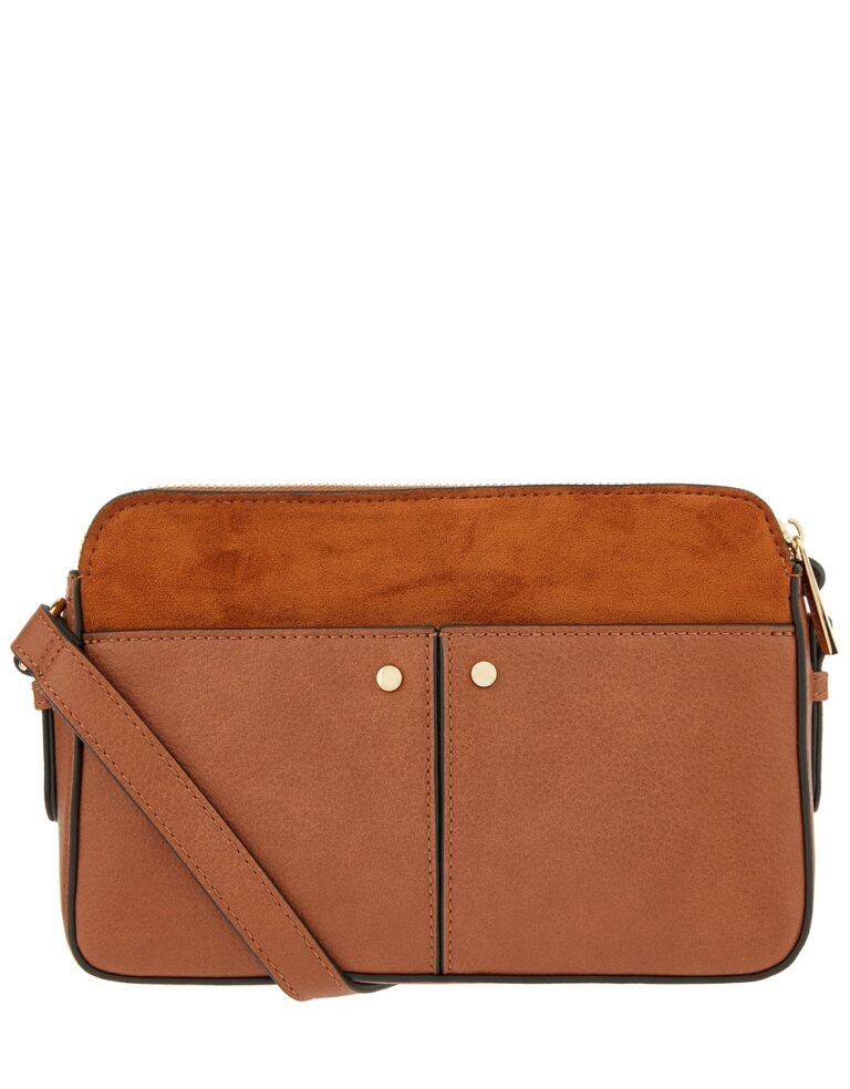 Charlotte Tan Crossbody Bag £25 Accessorize