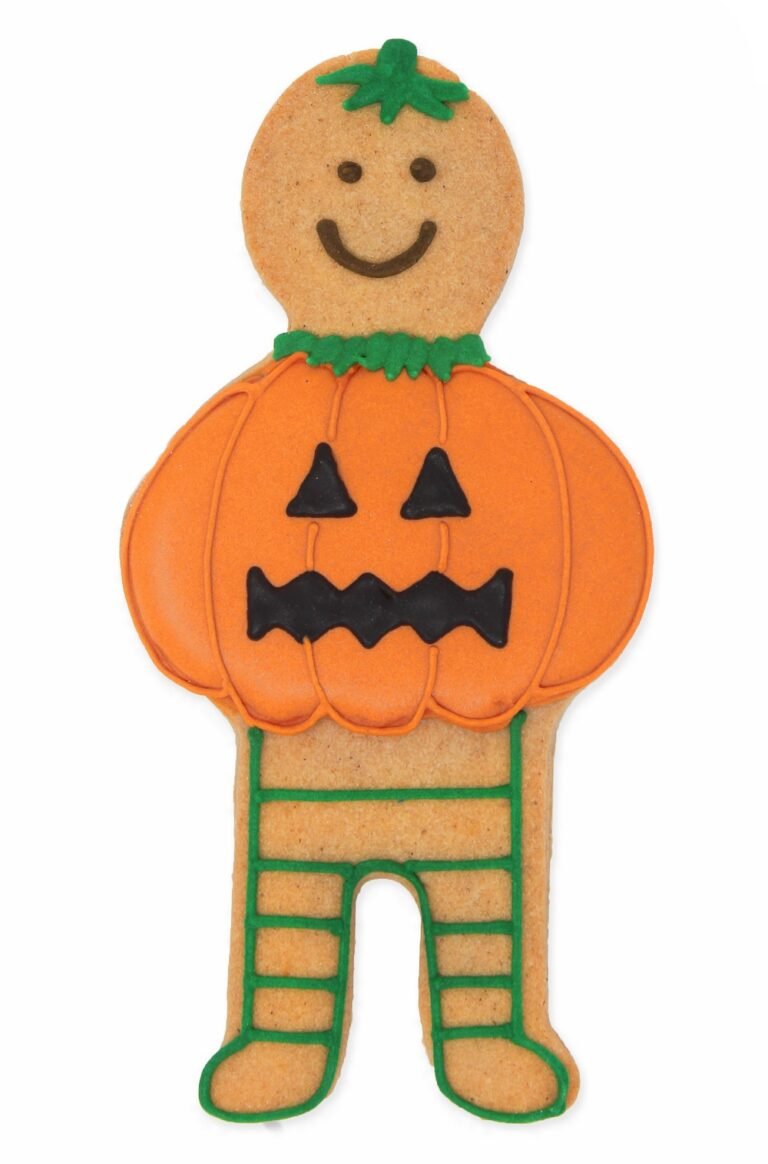 Halloween Pumpkin Jolly Ginger £7.95 Biscuiteers Baking
