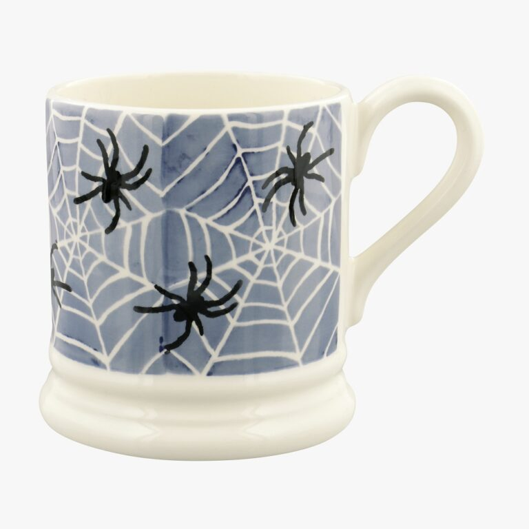 Midnight Spiders 1/2 Pint Mug £19.95 Daisy Park