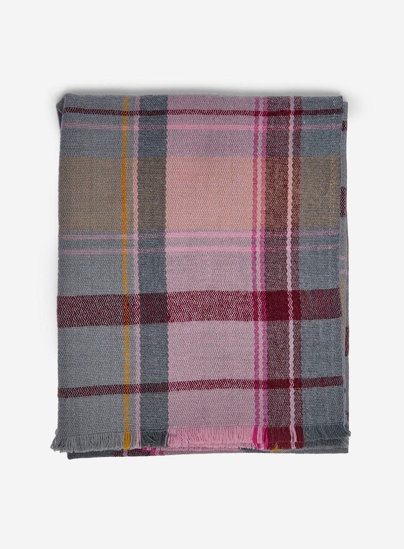 Burgandy Check Scarf £12 Dorothy Perkins