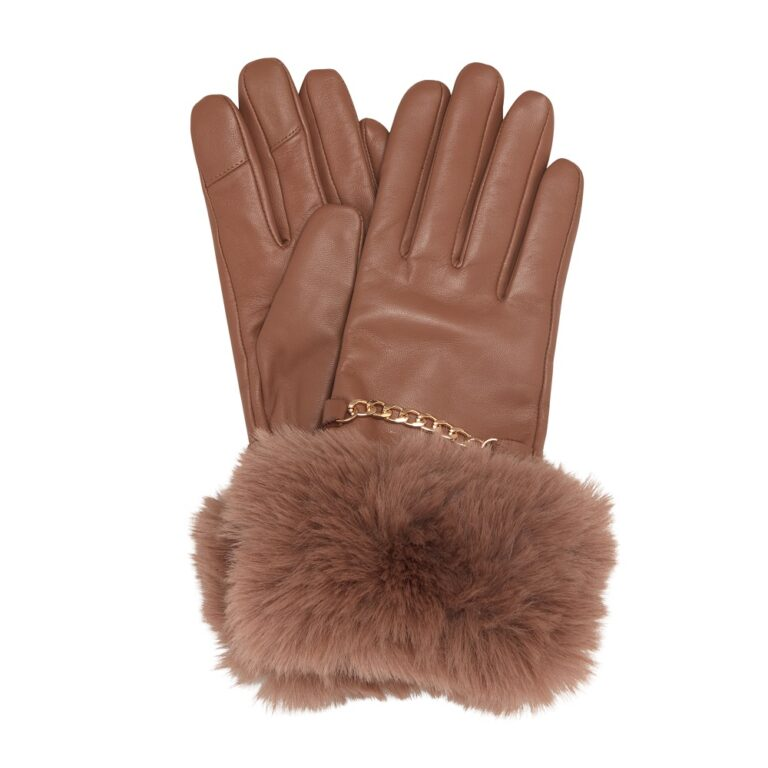 Isabel Tan Gloves £45 www.dunelondon.com