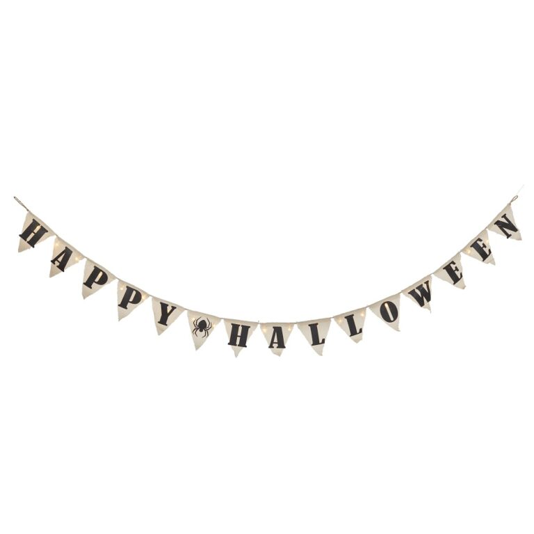 Light Up Happy Halloween Banner £19.99 Lights4Fun