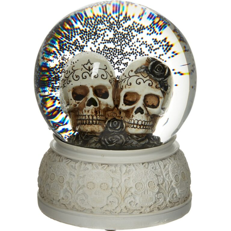 Glass Skull Water Globe £9.99 TK Maxx