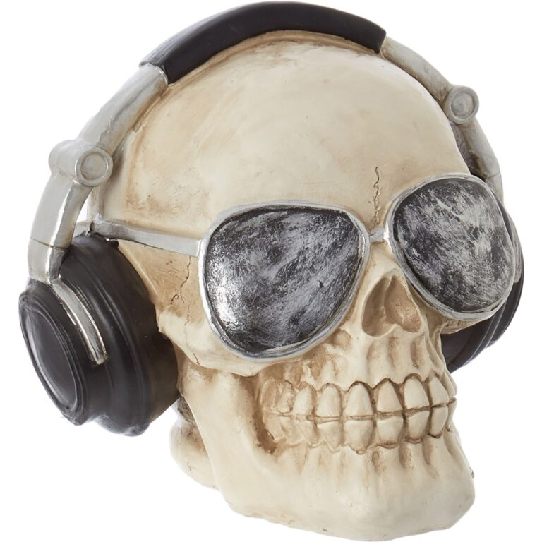 White Skull with Headphones £9.99 TK Maxx