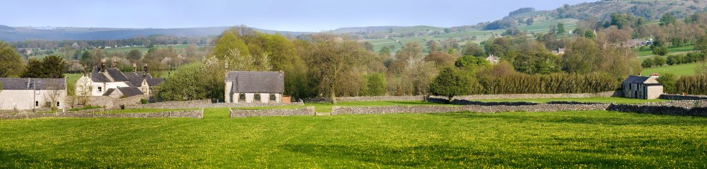 A rural area in the Peak District