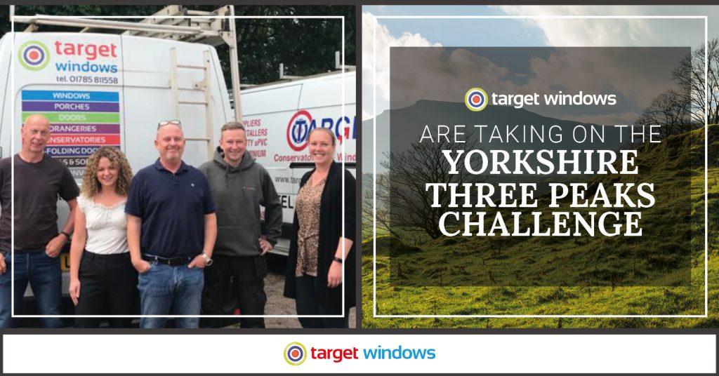 Target Windows Charity Hike Team