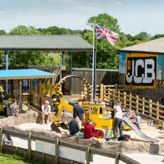 JCB Big Dig Zone at the National Forest Adventure Farm