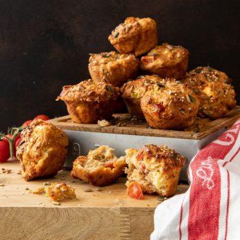 IOW Tomato & Cheese Muffins 5
