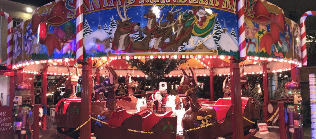 NFAF Christmas Cracker Reindeer Carousel