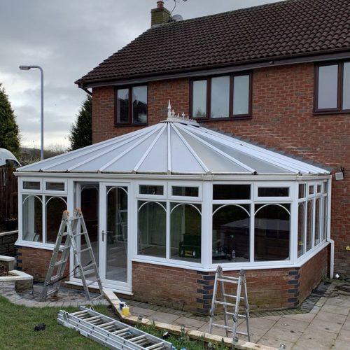 glazing business in Staffordshire