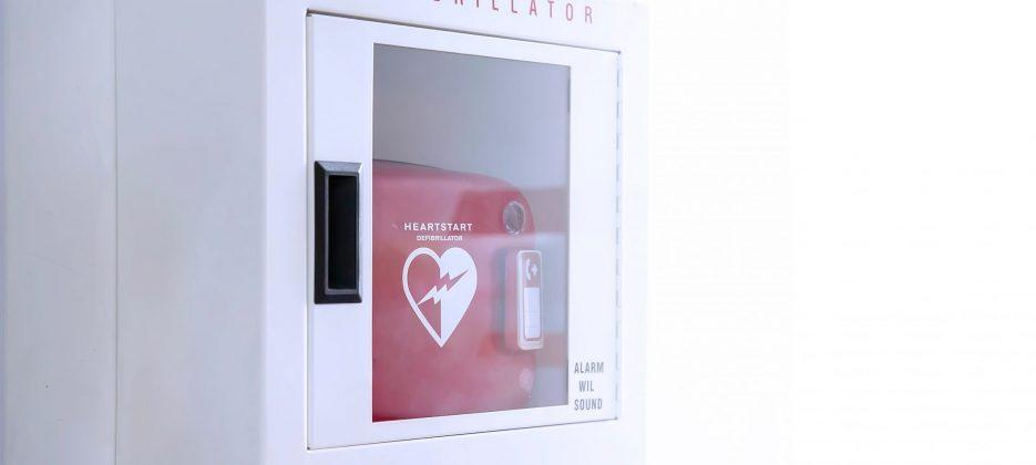 Business Lodge Stoke Defibrillator